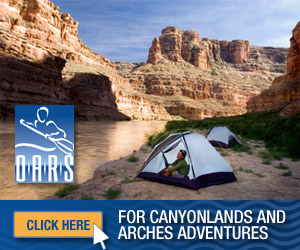 OARS - Canyonlands & Arches Adventures - Complete rafting, hiking, biking & camping tours within the Moab area, with options for luxury ranch stays and Jeep Tours. See our varying trip lengths, rates & photo gallery.