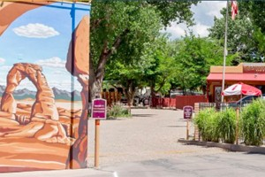 Canyonlands RV Resort & Campground :: A hidden gem located in the heart of downtown Moab! RV sites, tent & primitive tent sites, & cabins. Amenities include swimming pool, playground, wifi, & laundry. Book today!