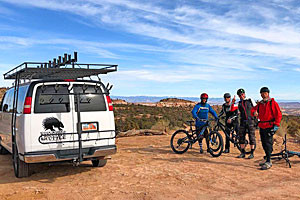Shuttle Rides to World Famous Trailheads