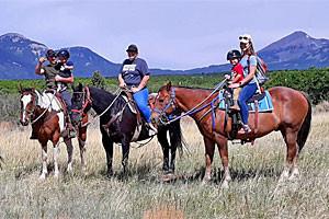 Mountain Joe's Trail Rides - kids start at $15