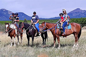 Mountain Joe's Trail Rides - all ages welcome