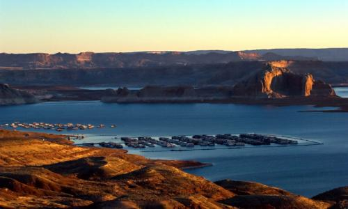 Wahweap Marina Lake Powell
