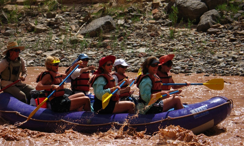 Whitewater Rafting near Moab Utah