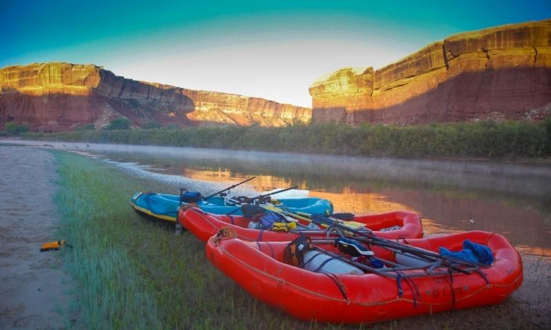 Green River Utah Canyonlands Rafting Scenic Cataract Canyon