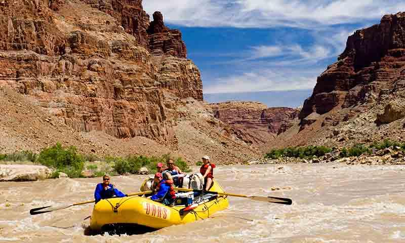 Whitewater Rafting the Colorado River near Moab