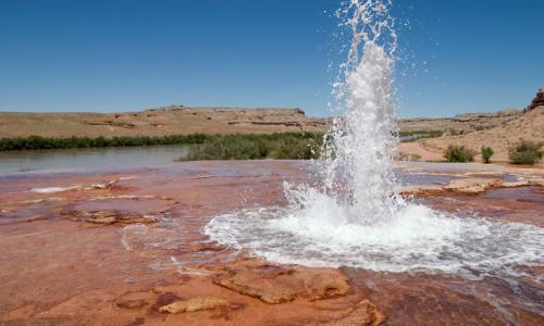 Crystal Geyser Utah Green River