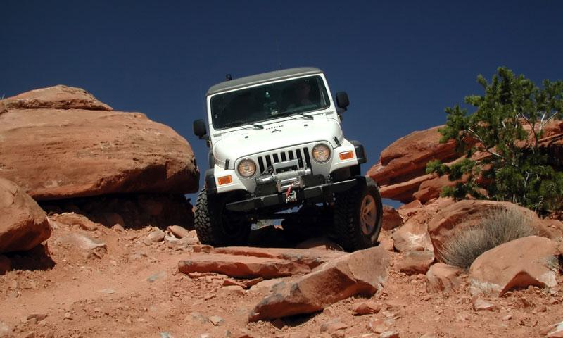 Flat Iron Mesa Jeep Trail in Moab Utah