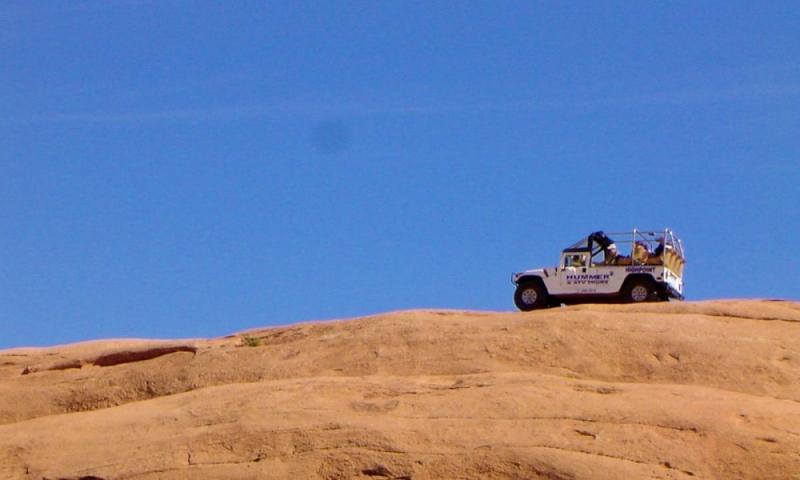 Moab 4x4 Hells Backbone
