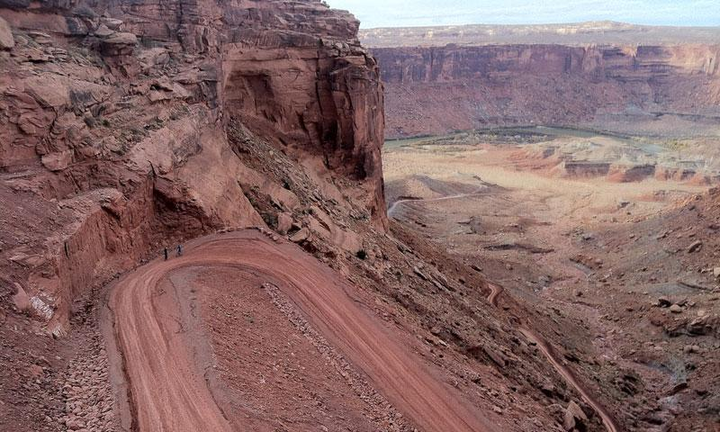 Moab Utah Trails White Rim Trail Alltrips