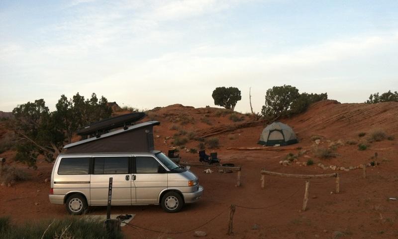 Sand Flats Camping