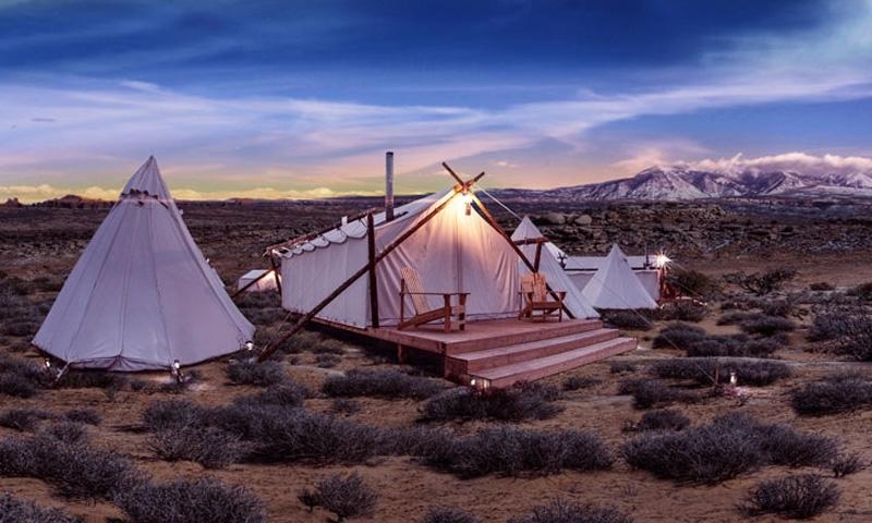 Glamping in Moab Utah
