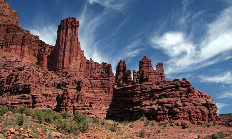 Fisher Towers Trail Moab