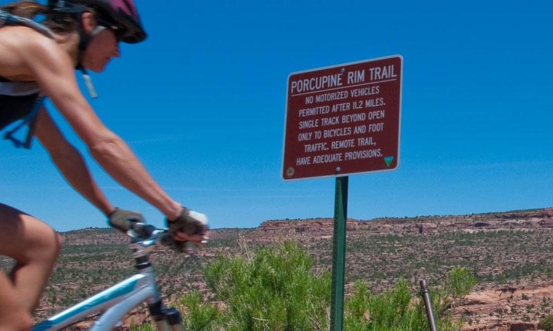 City Market Moab >> Moab Utah Trails: Porcupine Rim Trail - AllTrips