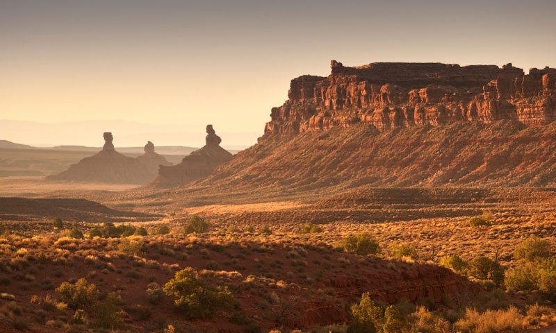 Valley of the Gods in Southern Utah
