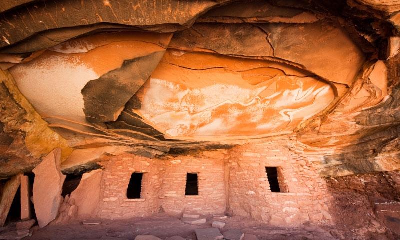 Mule Canyon Ruin in Utah