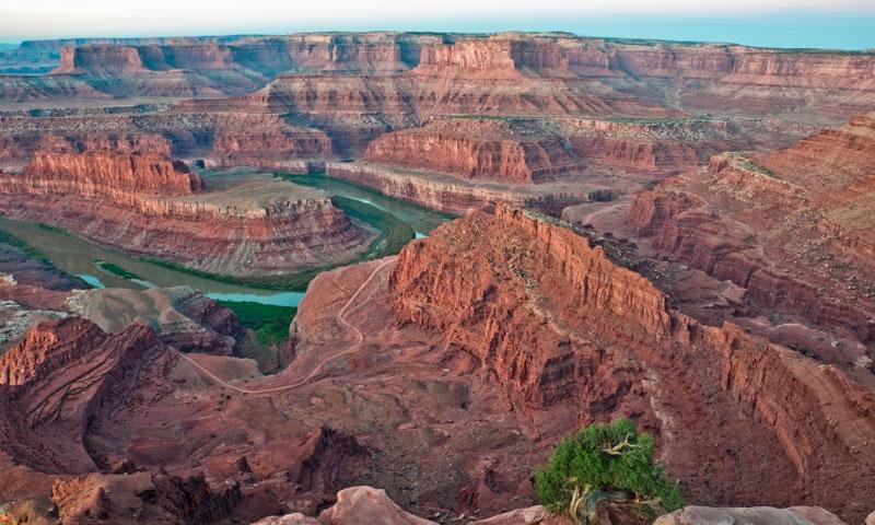 Utah Canyon Rims Recreation Area