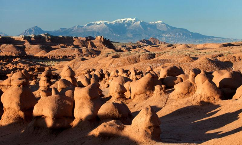 Goblin Valley State Park Before The Henry Mountains