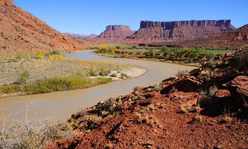 Colorado River Gorge Utah Scenic Byway 128 Alltrips