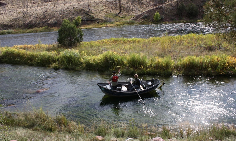 Fishing the Green River near Moab