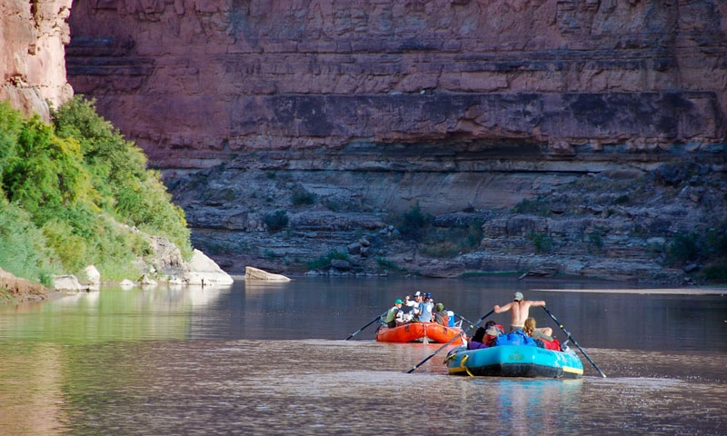 Rafting Cataract Canyon