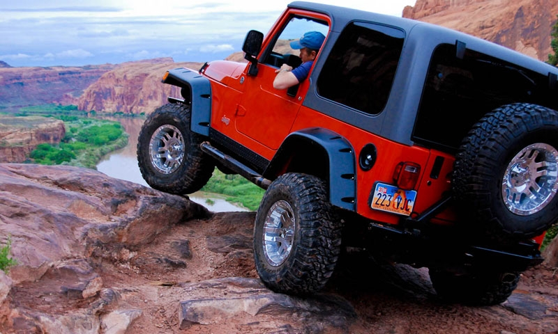 Moab Rim Trai Jeep Off Road Atv Utah Moab