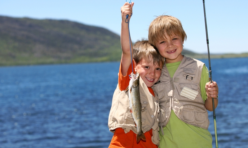 Kids Family Fishing