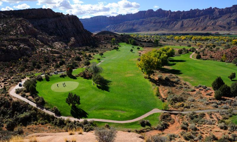 Golf Course in Moab Utah
