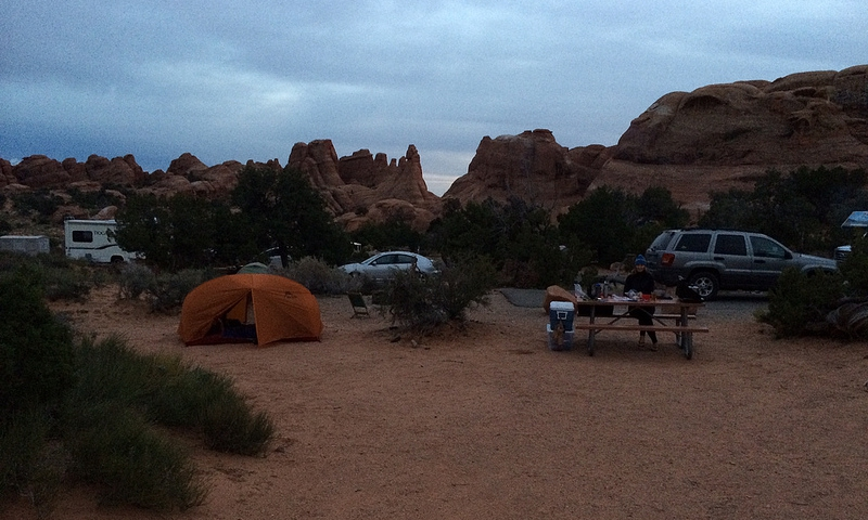 Arches National Park RV