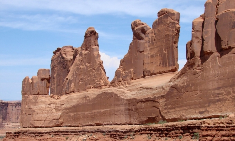 Courthouse Towers Arches National Park Alltrips