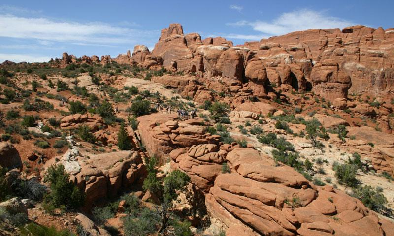 Fiery Furnace Arches National Park Alltrips