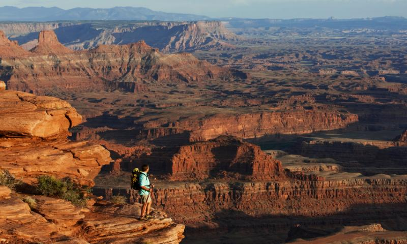 Canyonlands Hiking Trails National Park Hikes Alltrips