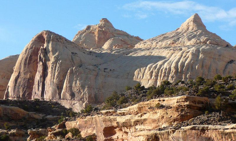 Domes in Capitol Reef National Park