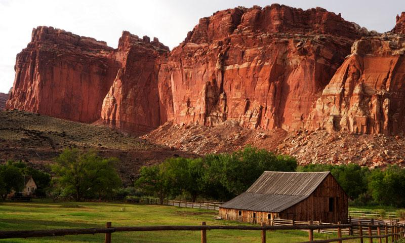 Historic Ranch in Capitol Reef National Park