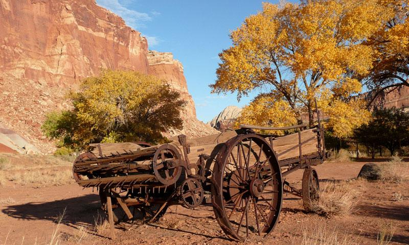 Historic Tool in Capitol Reef National Park